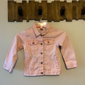 💖HP💖 Carter's girls pink denim jean jacket